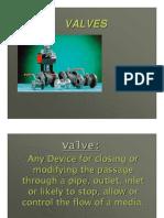 Valve & Type of vales