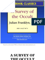 a survey of the occult by julian franklyn, ed