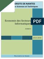 2013-2014 Cours Economie Secteurs Informatiques