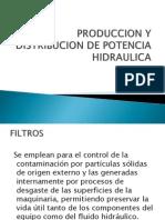 Produccion y Distribucion de Potencia Hidraulica
