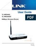 Tl-wr340g v4 User Guide