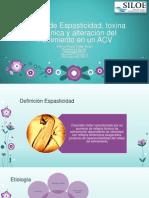 Papers de Espasticidad, toxina botulínica y alteración