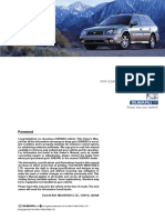 Instrukcja Obslugi Subaru Legacy 2004 [ENG]