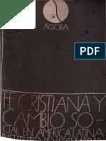 Instituto Fe y Secularidad - Fe Cristiana y Cambio Social en America Latina