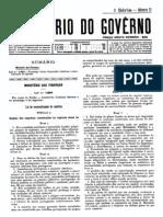 Lei 1994 (1943) Nacionalizacao de Capitais