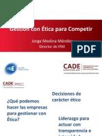Jorge Medina Gestion Con Etica
