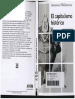 Wallerstein El Capitalismo Historico