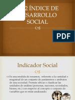 Índice de Desarrollo Social