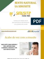 Tratamento Natural Para Sinusite