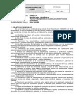 Especificaciones de Audioogia Protesica