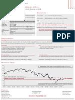 Single Barrier Reverse Convertible on AXA SA Coupon 11.5% p.a.;