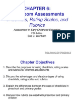 classroom assessments - checklists, ratings scales and rubrics.ppt