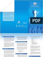 Brochure Premio Voluntariado Solidario