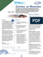 Biologia y Control de Roedores
