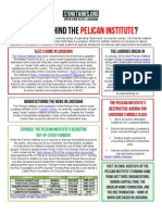 LA - Who Is Behind The Pelican Institute