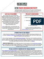 CA - Who Is The Pacific Research Institute