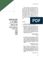 Copi Irving - Introducion a la Lògica (pag 99-104 y 113-121)