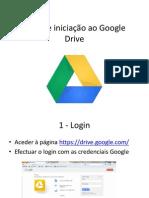 Guia de iniciação ao Google Drive