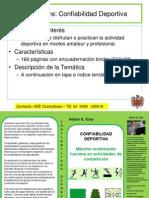 HEE LIBRO Confiabilidad Deportiva Presentacion