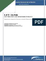 Ley 24946