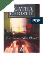 Agatha Christie - Lord Edgware'i Kim Öldürdü
