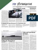 Libertynewsprint 8-7-09 Edition