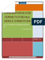 Final Sip Report at Tata Teleservices-_(Consumer Behavior During Taking New Mobile Connections) by-saurabh singh