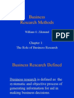 Business Research Methods - I