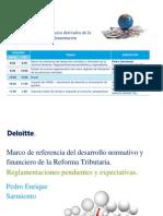 Desarrollos, impactos y vacíos derivados de la reforma tributaria y su reglamentación