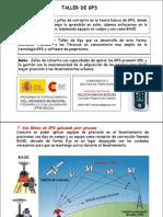 Postproceso de Datos Con GPS Promark 100 y GNSS