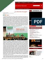 Hay que acabar con los derechos de papel • Movimiento Antorchista Nacional