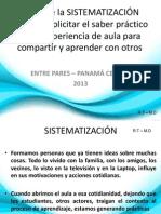 pasos de la sistematizacin - ral tapia - marianela delgado