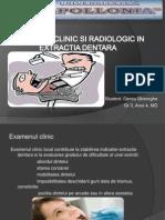 Examenul Clinic Si Radiologic in Extractia Dentara