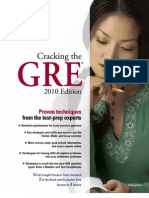 Cracking the GRE 2010 by The Princeton Review - Excerpt