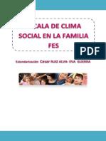 Escala Del Clima Social en La Familia FES