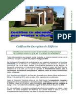 Certificados Eficiencia Energética. Benidorm, Altea, Calpe