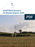 UK market of small wind turbine system