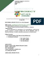0 Lets Do It Romania Proiect Scheia