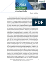 Nocoes de Direito e Legislacao Tjpr 2013 Intensivao Aprova Premium