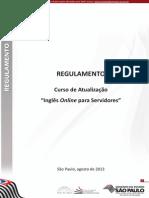 Regulamento Ingles Online Servidores