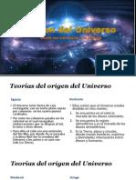 Origen Universo Transparencia