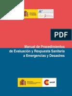 Manual Procedimientos de Evaluacion y Respuesta Sanitaria a Emergencias y Desastres