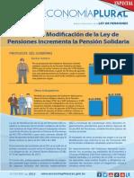 Economia Plural Ley de Pensiones