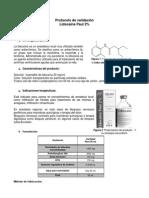 PROTOCOLO DE VALIDACIÓN DEL PROCESO DE FABRICACIÓN