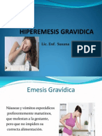 Presentación Hiperemesis Gravidica