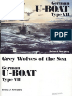 Kriegsmarine - German U-Boot Type VII - Grey Wolves of the Sea