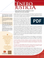 ARGUMENTACIÓN JURÍDICA CON PERSPECTIVA DE GÉNERO
