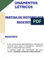 002 Partida de Motores Por Reostato