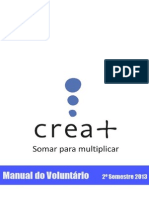 2013 2o Semestre - Manual do Voluntario Crea .pdf