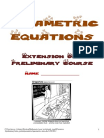 Parametrics Notes
